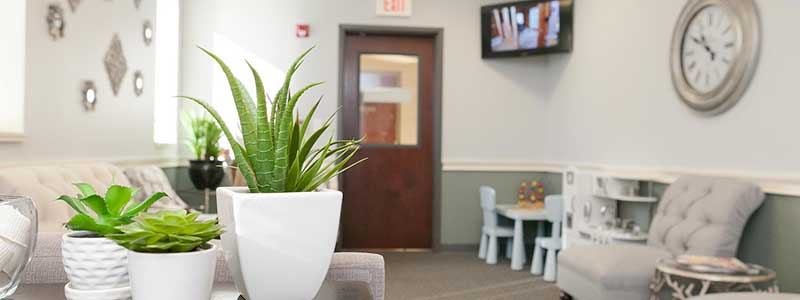 Williamsville Dental Office waiting area