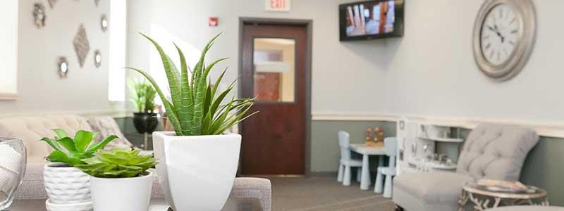 Williamsville Dental Office waiting area