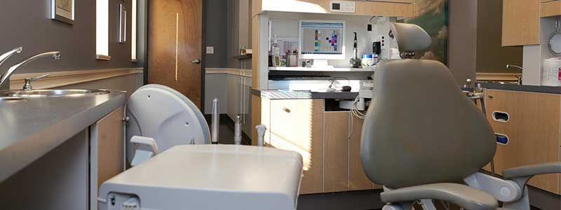 New Dental Patient Exam Room