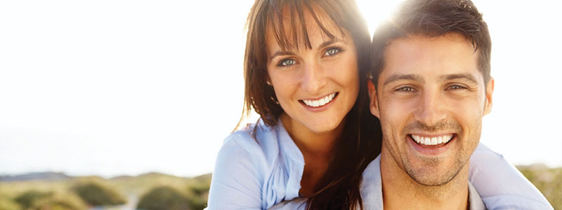 couple with cosmetic dentistry in williamsville